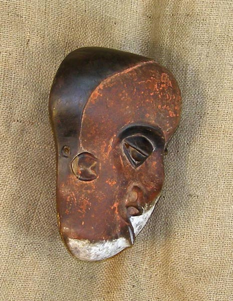 African Mask from the Pende Tribe of Democratic Republic of Congo