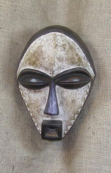African Pende Mask and African Sculptures