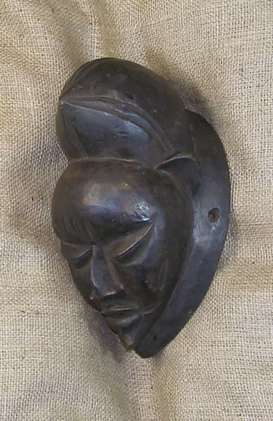 African Traditional art from the Punu Tribe - African Mask