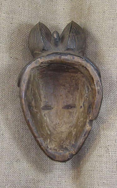 Africian Mask from the Punu Tribe of Cameroon, Gabon, and the Congo