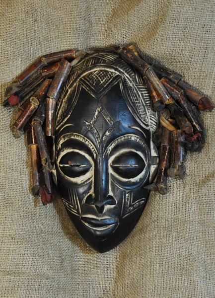 Africian Mask from the Rasta Tribe of Ethiopia