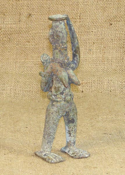 African Traditional art from the Sao Tribe - African Bronze