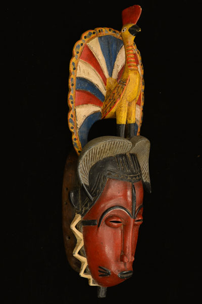 African Sawa Mask 4, Right Angle