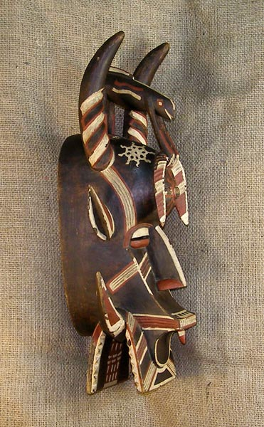 African Traditional art from the Senufo Tribe - African Mask