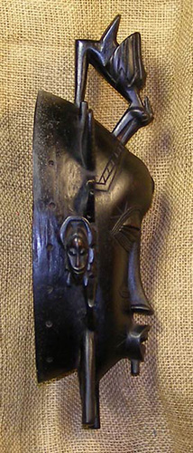 African Senufo Mask and African Sculptures