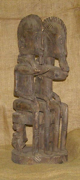 Africian Statue from the Senufo Tribe of Ivory Coast, Mali, and Burkina Faso