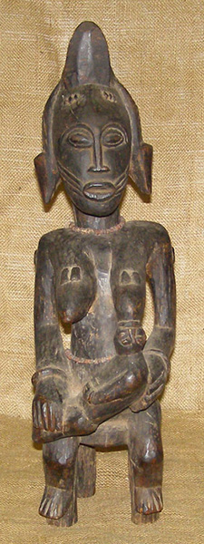 African Traditional art from the Senufo Tribe - African Statue