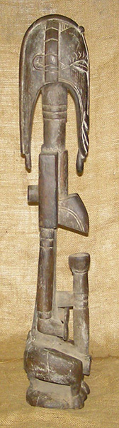 African Senufo Statue and African Sculptures
