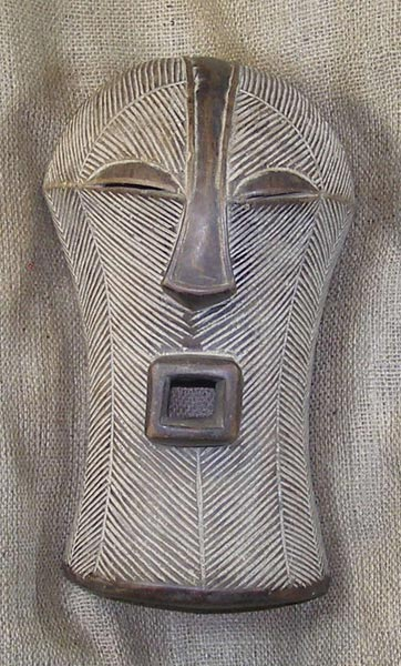 African Mask from the Songye Tribe of Congo