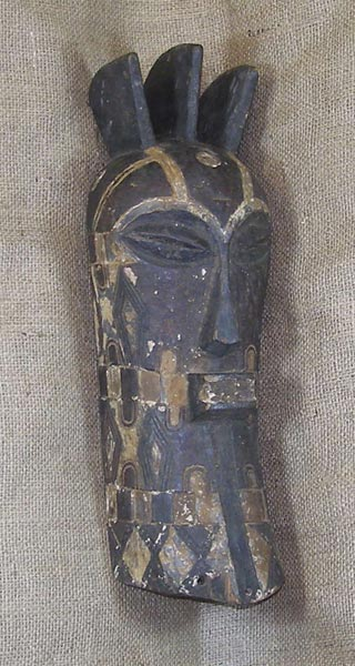 Africian Mask from the Songye Tribe of Congo
