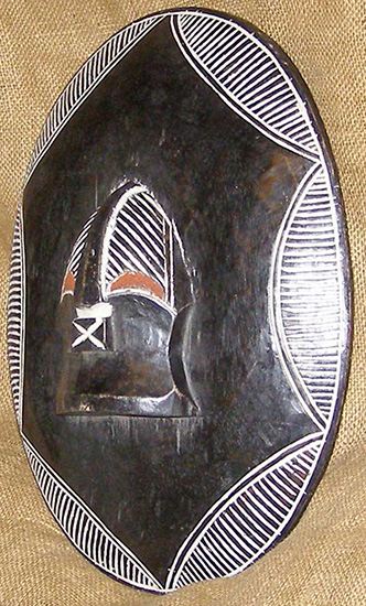Africa Shields - Songye Shield