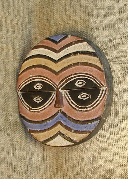 African Mask from the Teke Tribe of Congo