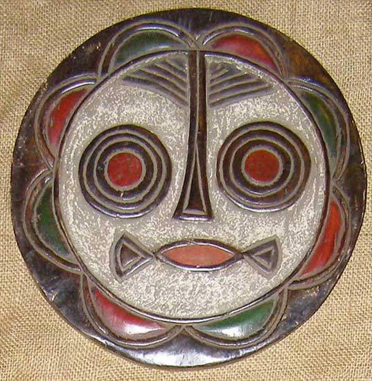 Africian Mask from the Teke Tribe of Congo
