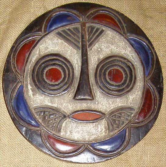 African Traditional art from the Teke Tribe - African Mask