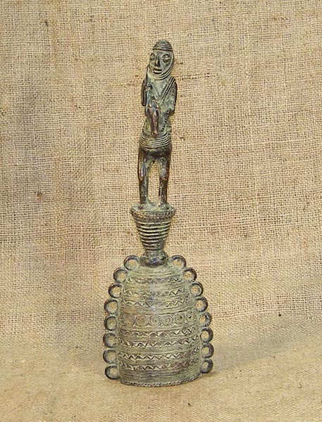 African Traditional art from the Tikar Tribe - African Bell