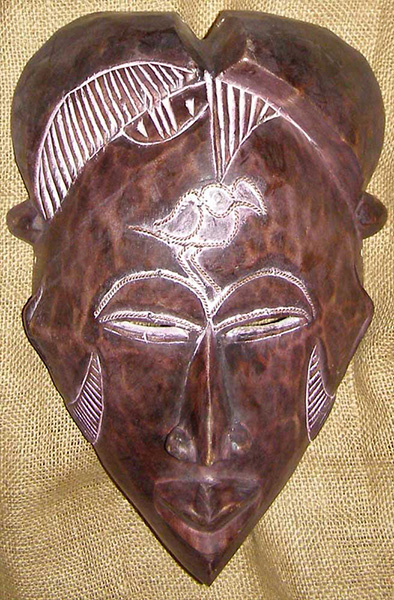 African Traditional art from the Tikar Tribe - African Mask