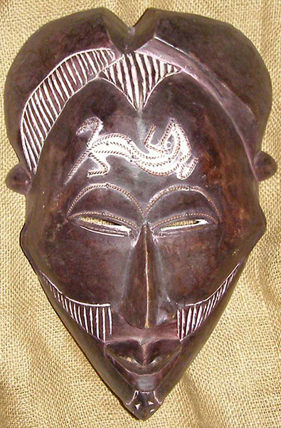 African Mask from the Tikar Tribe of Cameroon
