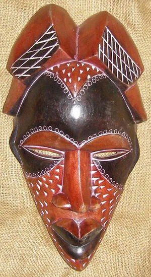 Tribal African Masks from the Tikar