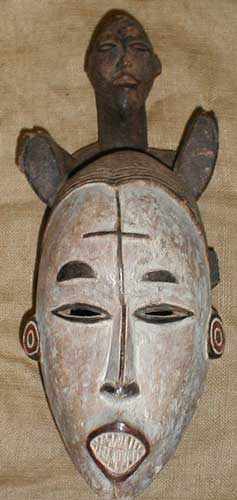 African Masks from GenuineAfrica.com
