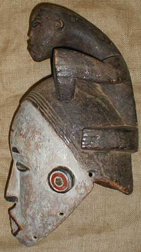 African Traditional art from the Makonde Tribe - African Mask
