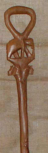 Ancient African Art Forms - Africa Walking Sticks