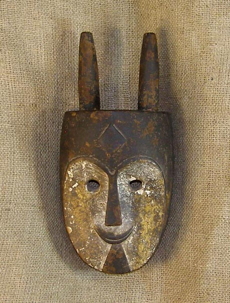 Tribal African Masks from the Vuvi