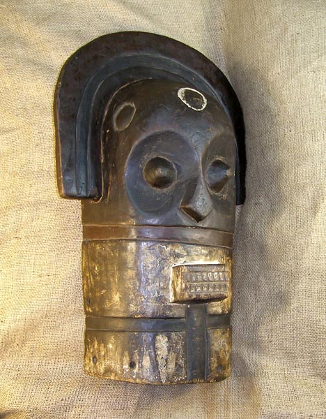 Tribal African Masks from the Yaka