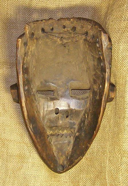 African Yaka Mask and African Sculptures