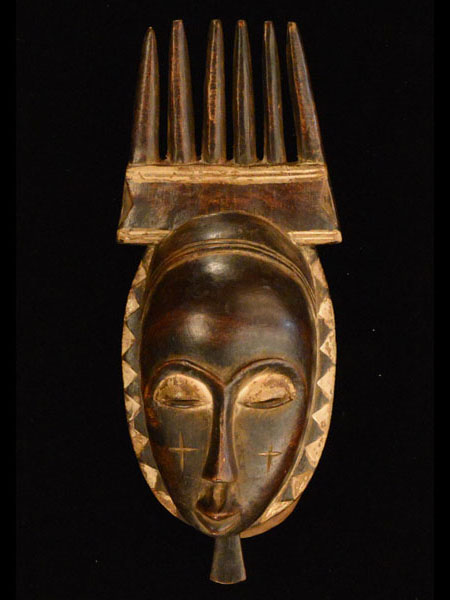 African Decor - Africa Yaure Mask 30