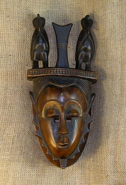 Tribal African Masks from the Yaure