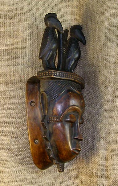 African Traditional art from the Yaure Tribe - African Mask