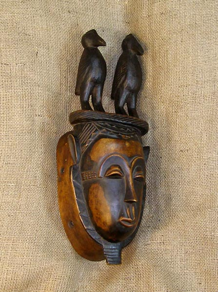 African Artwork from the Yaure Tribe - African Antique