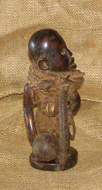 African Yombe Statuette and African Sculptures