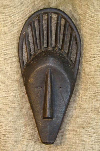 African Yoruba Mask and African Sculptures
