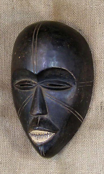 African Traditional art from the Yoruba Tribe - African Mask