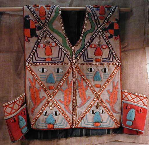 Africian Vest from the Yoruba Tribe of Nigeria and Benin