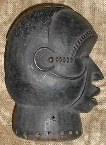 African Traditional art from the Yoruba Tribe - African Helmet