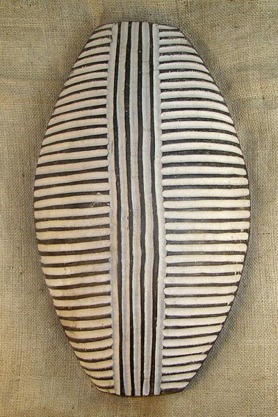 African Traditional art from the Zulu Tribe - African Shield